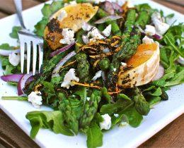 Salad măng tây ngon tuyệt