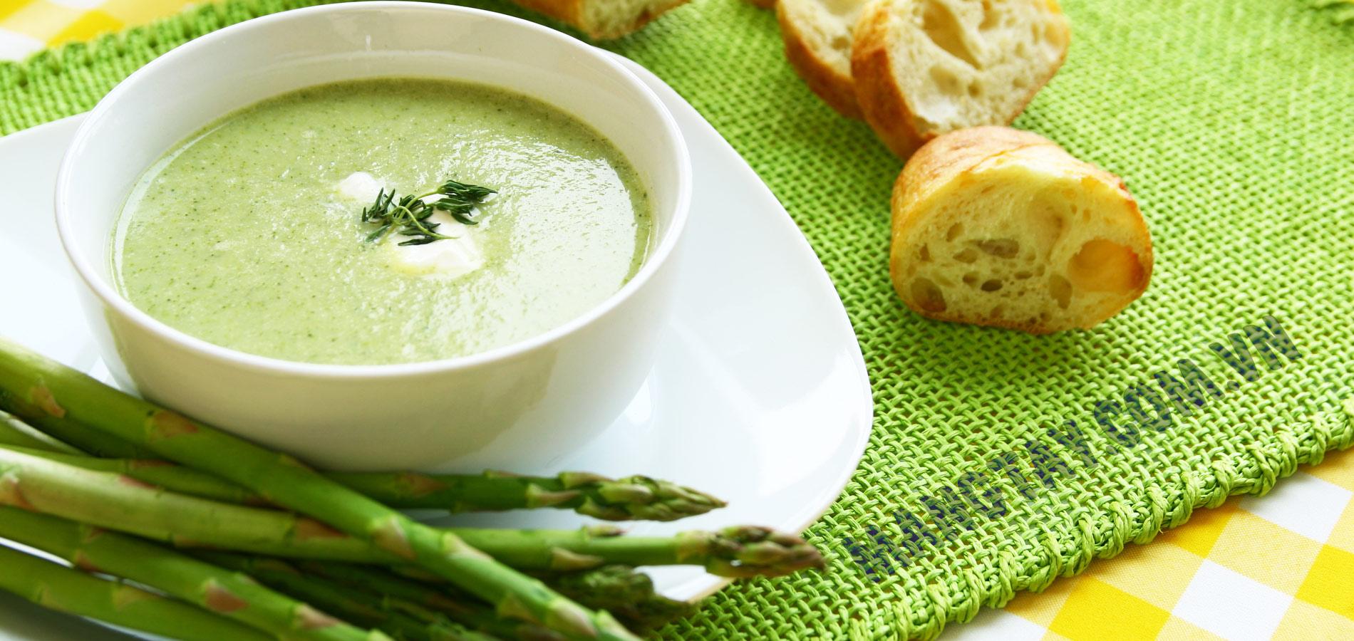 soup măng tây